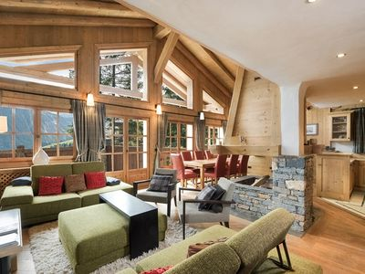 Photo for Chalet for 8 people in Courchevel 1850