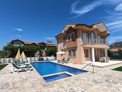 Photo for 2019 BUILT LOVELY VILLA IN A GOOD LOCATION WITH PRIVATE GARDEN&VERY LARGE POOL!!