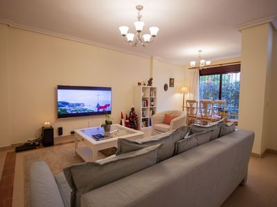 Photo for Beautifully decorated, large apartment with 2 bedrooms and private garden