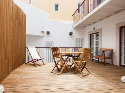 Photo for Terrace, River & City View in Alfama, Gonzalo's Home - Two Bedroom Apartment, Sleeps 6
