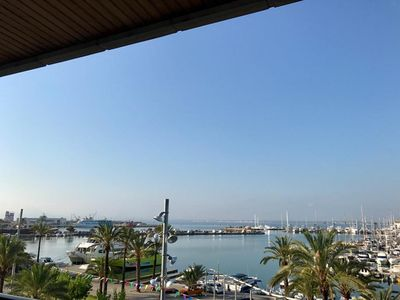 """Photo for Beautiful Holiday Apartment """"Alcudia Mar"""" with Wi-Fi, Sea View, Balcony & Air Conditioning"""
