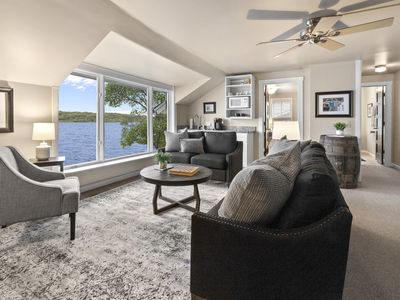 Photo for Lake Geneva | Lakefront Home, Private Beach, Pier, Rooftop Deck, Kayaks