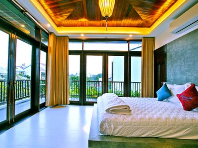 Photo for Azumi 01 bedroom balcony 2nd floor Apartment Hoian