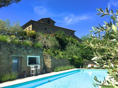 Photo for 1BR Apartment Vacation Rental in Anghari, Toscane