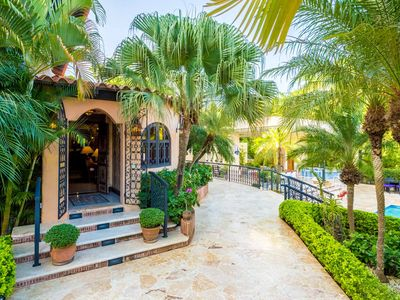 Photo for AVAILABLE NEW YEARS! Near Altos de Chavon, Moroccan Decor, Pool, AC, Free Wifi, Maid