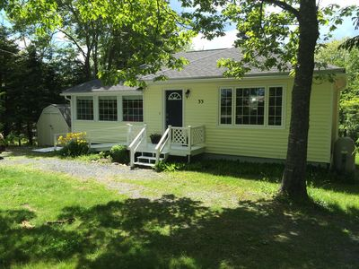 Photo for Lovely Lakefront Cottage near Sandy Beaches and Hiking / Biking Trail