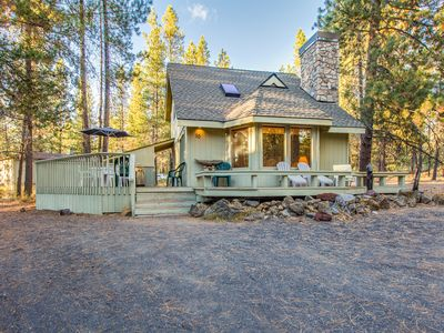 Photo for 2 Bedroom with Loft, A/C, Gas Fireplace and Hot Tub Walk to Village - DEER10