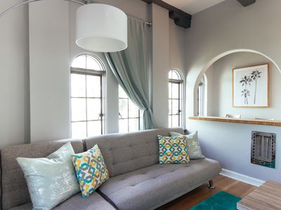 Photo for Gorgeous Penthouse Suite, Charming Historical Boutique Hotel next to Convention