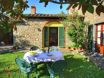 Photo for Chic Holiday Home in Cortona with Swimming Pool