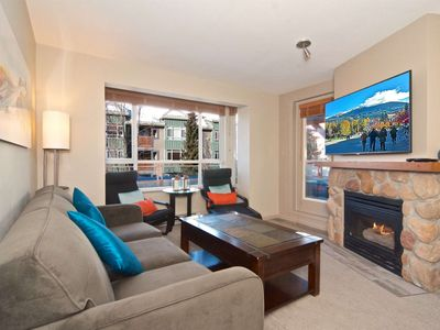 Photo for Fully renovated NOV 2018 stunning Condo on Village stroll with one of the best decks in the Village