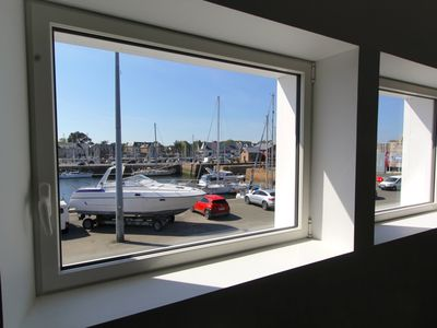 Photo for The Leopoldine Apartment on the Port of Paimpol
