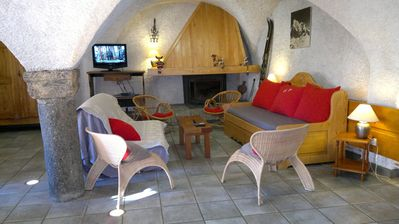 "Photo for Serre Chevalier 1400 ""Cabris"" old barn renovated for 16 to 18 people,"