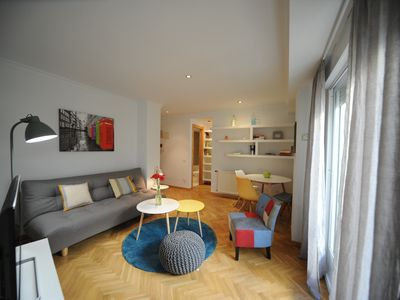 Photo for New! Cozy apartment in the center with garage