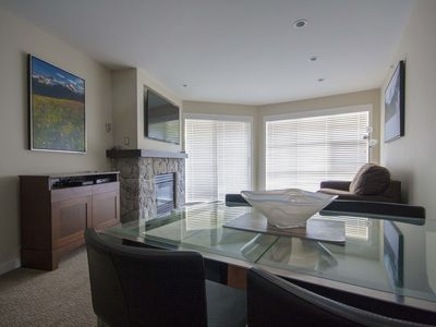 Photo for Ski In Ski OutApartment w/ Pool & Hot Tub Access by Harmony Whistler