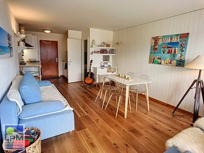 Photo for Olympiades 002 Bright and pleasant studio (34m2) for max 4 people in a romantic and modern style. Si