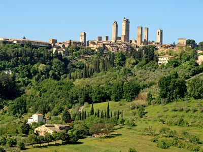 Photo for Romantic cottage stunning views over San Gimignano Ideal for couples & families