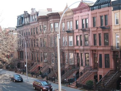 Photo for A Classic Historic BrooklynBrownstone neighborhood close to all