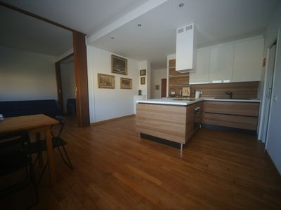 Photo for Luxurious renovated apartment 50 meters from the sea