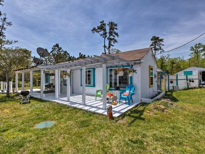 Photo for Oceanfront White Stone Cottage w/Private Beach!