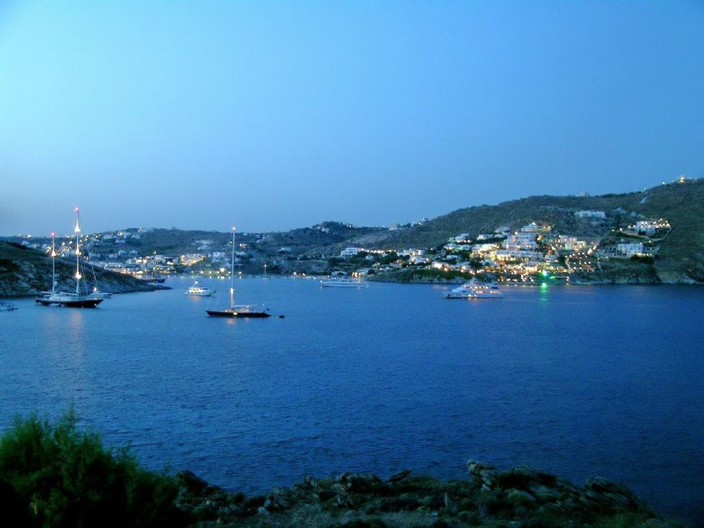 Mykonos, Ornos Water front House
