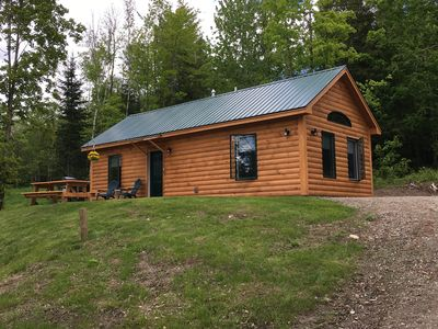 Photo for 2 Cabin rentals near Stowe, Smuggler's Notch, snow machine and hiking trails.