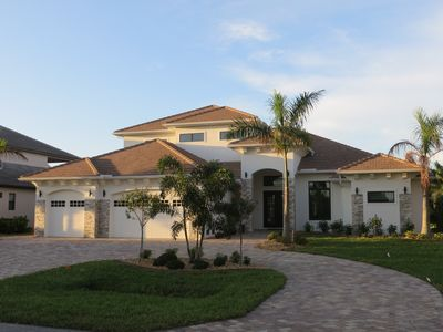 Photo for Big High-End Luxury Villa, southern exposure, SW Cape Coral, 24ft. Boat included