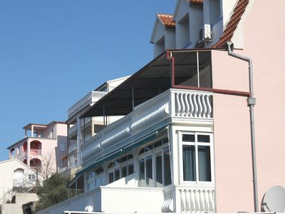 Photo for Apartments and rooms Ljubica, (9172), Tisno, island of Murter, Croatia