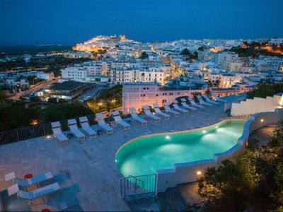 Photo for Holiday house with pool in Ostuni. Historic center at 700 m. WOW sea view