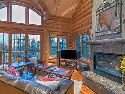 Photo for Skiside at Sundance - Incredible Views, Private Hot Tub, Sauna and Ski-In/Ski-Out Location