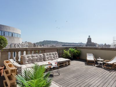 Photo for Unique Rentals - Central penthouse Placa Catalunya II