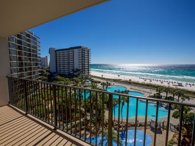 Photo for BOOK NOW FOR 2019! 2 BR/2 BATH DELUXE UNIT! Tower I-overlooks lagoon pool!