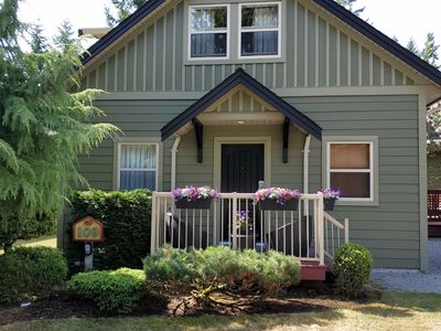 Photo for Relax, play and stay at The Corner Cottage in beautiful Parksville, BC