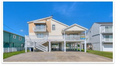 Photo for Beautiful 5BR 4BA Channel Vacation Home 1 blk to Beach / Wkly1895 -2599 SLP's 14