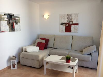 Photo for A * Beautiful bright apartment with partial sea view about 100 m to the beach and sea