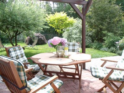 Photo for Spacious, sunny 4-star **** - Apartment with garden near the lake in Lychen