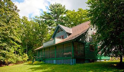 Photo for 55 acres Private Mountain Retreat with salt water pool, private stream & trails