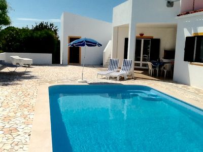 Photo for Villa with private pool & roof terrace near beaches in scenic Western Algarve
