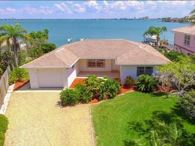 Photo for ST PETE BEACH/WATERFRONT/BOAT LIFT/3BLOCKS TO BEACH/KAYAKS/SUP BOARDS/POOL