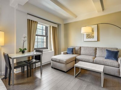 Photo for Studio Suite w/ Queen Bed, Close to 51st St Subway