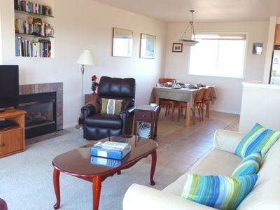 Great Room living area, upper level