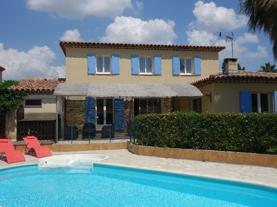 Photo for Beautiful apartment for 8 guests with private pool, WIFI, TV, pets allowed and parking