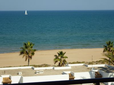 View of Xeraco Beach from our Balcony