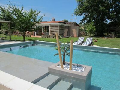 Photo for Civitella Marittima Holiday Home, Sleeps 6 with Pool, Air Con and WiFi