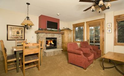 Photo for Cozy Studio Condo with Gas Fireplace Perfect for a Couple's Retreat!