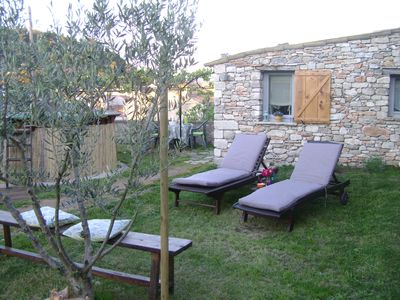 Photo for TYPICAL PROVENCAL GITE FOR 2 PEOPLE WITH GARDEN AND POOL