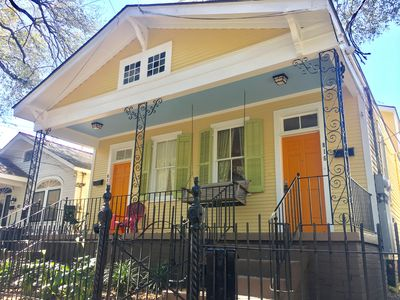 Photo for Uptown Half-Double Near Magazine St, Walk To St. Charles Streetcar & Parades
