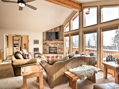 Photo for Luxury Fairplay Home w/ Deck, Grill & Mtn Views!