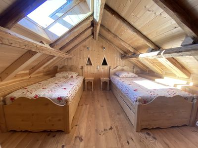 Photo for Charming chalet Alpe d´Huez, 7 people with all comfort