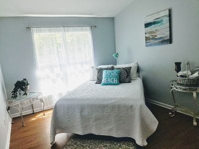 Photo for Private room in Beachy Chic Condo close to Mayo and Beaches