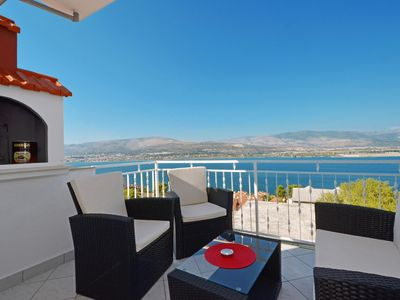 Photo for RAINBOW 2, sea view apartment for 2+2 persons - pet friendly